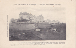 BE17- BIRON EN DODOGNE JOLI CHATEAU  CPA PRECURSEUR - France