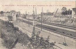 CPA - Choisy Le Roi - Vue D'ensemble De La Gare - Perspective Des Voies Et Gare De Marchandises - Choisy Le Roi