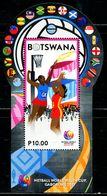 XE0243 Botswana 2017 Basketball Championship Flag Shaped S/S MNH - Botswana (1966-...)
