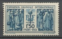 FRANCE N°274 Expo Coloniale De Paris NEUF LUXE** SIGNE CALVES COTE 110€ P1150 - Nuovi