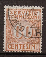 Italie Service N°10 60c Brun Clair. P311 - 1878-00 Humbert I