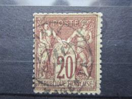VEND TIMBRE DE FRANCE N° 67 !!! (c) - 1876-1878 Sage (Type I)