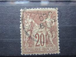 VEND TIMBRE DE FRANCE N° 67 !!! (h) - 1876-1878 Sage (Type I)