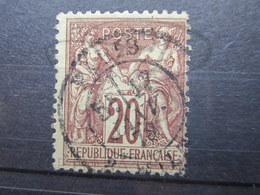 VEND TIMBRE DE FRANCE N° 67 !!! (i) - 1876-1878 Sage (Type I)