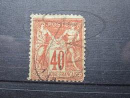 VEND TIMBRE DE FRANCE N° 70 !!! (e) - 1876-1878 Sage (Type I)