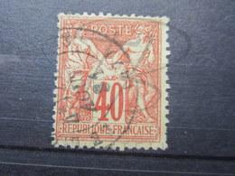 VEND TIMBRE DE FRANCE N° 70 !!! (f) - 1876-1878 Sage (Type I)