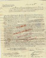 1820 D'HOZIER ARMORIAL GENERALDE LA NOBLESSE REEDITION PRESENTATION DE LA FAMILLE DE L'AUTEUR B.E.V.HISTORIQUE - Historische Dokumente
