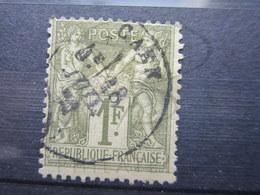 """VEND TIMBRE DE FRANCE N° 72 , CACHET """" CAEN """" !!! - 1876-1878 Sage (Type I)"""