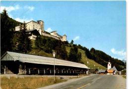 Panzendorf Bei Sillian - Gedeckte Holzbrücke Und Burg Heimfels (9920/7) - Sillian