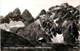 Viktor Hinterbergerhütte, 2418 M Gegen 3 Zinnen (Dolomiten) (40968) * 24. 6. 1955 - Sillian