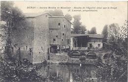 CPA - Duras - Ancien Moulin De Monsieur  -moulin De L'égalité Situé Sur Le Dropt - France