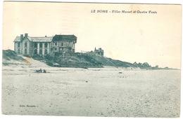 CPA Le Home Varaville Villas Musset Et Quatre Vents 14 Calvados - France