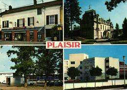 PLAISIR -78- TABAC LE NEMROD LA GARE LA MAIRIE L'HOPITAL DEPARTEMENTAL DES PETITS PRES - Plaisir