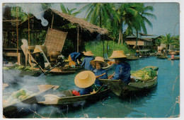 RAJBURI    DAMNERNSADUAK  FLOATING MARKET         2 SCAN     (VIAGGIATA) - Tailandia