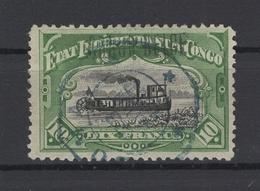 Congo-Belge. 1894. COB N° 29a (dentelé 12x12). Oblitéré. Cote COB 2018 : 60 € - 1894-1923 Mols: Gebraucht