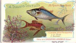 Chocolaterie D'Aiguebelle A Travers Les Flots Le Thon Barbier (11cm X 6cm) - Aiguebelle