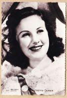 Nw2337 DEANNA DURBIN Edna Mae 1921-2013 ( Neauphle-le-Château ) Actrice-Chanteuse Canada-Américaine Coll. CHANTAL 423 - Entertainers