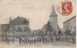Haute Saône , Ailloncourt, Place De L' église . - Autres Communes