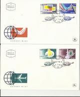 Israel. FDC. Exportaciones. Correo Aéreo. - Textiles