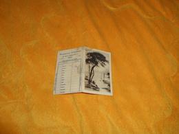 PETIT CALENDRIER DE 1953. / PHARMACIE CHIVRAC AMIENS. - Calendriers