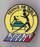 PIN'S  THEME SPORT TENNIS DE TABLE  AIR FRANCE - Table Tennis