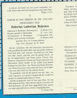 Bp     Eew. H.   Reijniers   Berchem   Merchtem - Images Religieuses