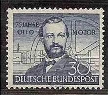 1952 Germania RFT Germany Deutschland  NIKOLAUS OTTO  MOTORE A GAS S.35 MNH** - [7] Federal Republic