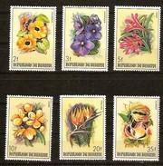 Burundi 1986 OBCn° 944-949 *** MNH Cote 50 Euro Flore Fleurs Bloemen Flowers - 1980-89: Neufs