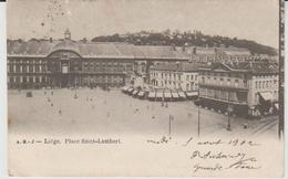 Lot De 4 Cartes Postales Anciennes De 1902 De LIEGE - Liege