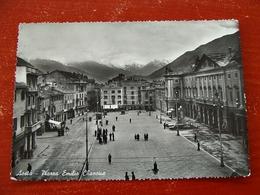 (FG.B39) AOSTA - PIAZZA EMILIO CHANOUX Animata - Aosta