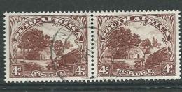 Afrique Du Sud   -  Yvert N°  191 Et 192 Se Tenant   Oblitéré      Bce 11330 - Used Stamps