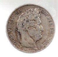 5 FRANCS LOUIS PHILIPPE I ROI DES FRANCAIS.1832 W--------------.TB - J. 5 Franchi