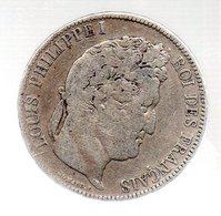 5 FRANCS LOUIS PHILIPPE I ROI DES FRANCAIS.1834 A --------------.TB - J. 5 Franchi