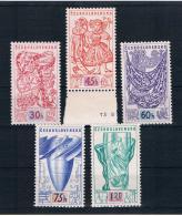 Tschechoslowakei/CSSR 1958 Mi.Nr. 1068/72 Kpl. Satz ** - Ungebraucht