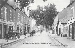 DOMPIERRE (Allier) Rue De La Gare - Otros Municipios