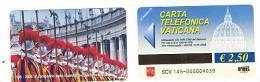 VATICANO-VATICAN-VATICAN CITY  CAT. C&C   6145 - 1506.2006 V CENTENARIO GUARDIA SVIZZERA PONTIFICIA - Vatican