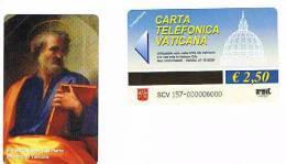 VATICANO-VATICAN-VATICAN CITY  CAT. C&C  6157   - SAN PIETRO. FRA BARTOLOMEO. PINACOTECA VATICANA - Vatican