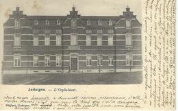 JODOIGNE : L'Orphelinat - Cachet De La Poste 1901 - Geldenaken