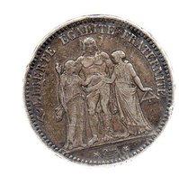 5 FRANCS  HERCULE 1873 K . ----------TB - France