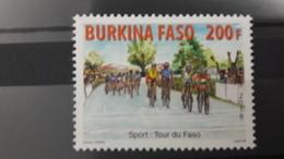 BURKINA FASO 2016 CYCLING TOUR DU FASO VELO VELOS BICYCLE BICYCLES BIKE BIKES  - RARE-  MNH - Burkina Faso (1984-...)