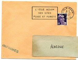 SEINE Et OISE - Dépt N° 78 = L' ISLE ADAM 1953 = FLAMME à DROITE = SECAP ' SITES / PLAGE Et FORETS ' - Annullamenti Meccanici (pubblicitari)