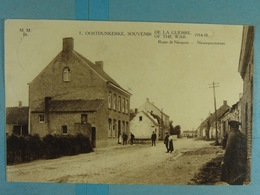 Oostduinkerke Souvenir De La Guerre 1914-18 Route De Nieuport - Oostduinkerke