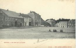 BERTRIX : Un Coin De La Place - Cachet De La Poste 1900 - Bertrix