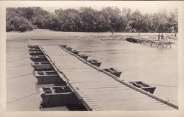 CP Photo 1918-1919 Construction D'un Pont Par Le Génie Américain, 313th Engineers (A190, Ww1, Wk 1) - Guerre 1914-18