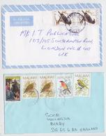MALAWI - Kasungu - Capital City - Lot De 2 Enveloppes Timbrées - Timbre Oiseau - Air Mail Cover Bird Stamp Vögel Brief - Malawi (1964-...)