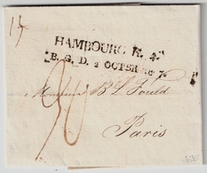 1807, Bergischer L2  Hamburg , Sehr Klar !,  #a352 - Hamburg