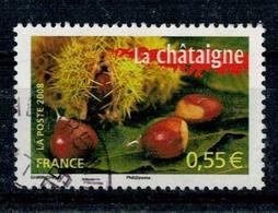 2008 N 4265 CHATAIGNE OBLITERE CACHET ROND #227# - Frankreich