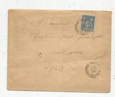Lettre,  1893 , ST AMAND DE VENDOME , Loir Et Cher ,15 - Storia Postale