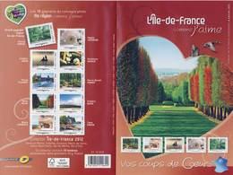 BLOC COLLECTOR REGIONS De FRANCE ILE De FRANCE NEUF**  ANNEE 2012 - Collectors