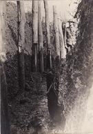 Photo Octobre 1918 Alsace - Réparation D'une Tranchée, Lieutenant Sawyer Du 313th Engineers (A190, Ww1, Wk 1) - Guerre 1914-18
